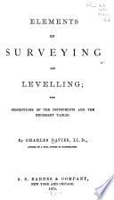 Elements of Surveying and Leveling