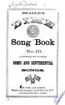 Beadle's Dime Song Book, etc. no. 10-18