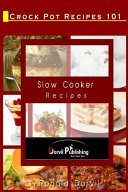 Crock Pot Recipes 101 Book PDF