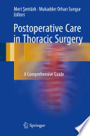 Postoperative Care in Thoracic Surgery
