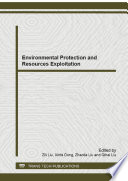 Environmental Protection And Resources Exploitation Book PDF
