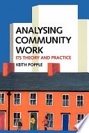Cover of Analysing Community Work
