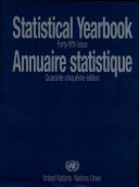 Annuaire Statistique