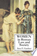 Women in Roman Law   Society Book