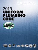 2015 Uniform Plumbing Code Book PDF