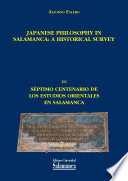 Japanese Philosophy in Salamanca: A Historical Survey
