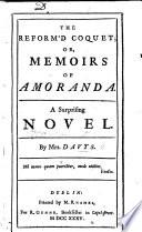 The Reform d Coquet  a novel
