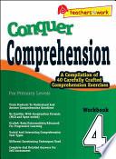 e Conquer Comprehension Workbook 4