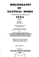 Bibliography of Nautical Books Book