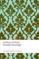 Framley Parsonage Pdf/ePub eBook
