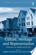Culture  Heritage and Representation