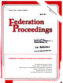 Federation Proceedings