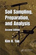 Soil Sampling  Preparation  and Analysis