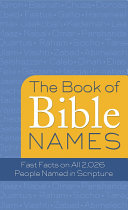 The Book of Bible Names
