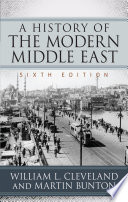 A History of the Modern Middle East Book PDF