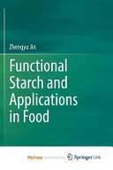 Functional Starch And Applications In Food Book PDF