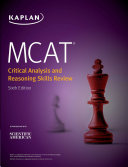 MCAT Critical Analysis and Reasoning Skills Review 2020 2021