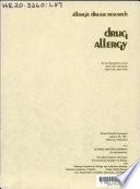 Drug Allergy Book