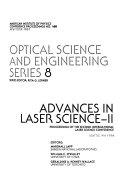 Advances in Laser Science II