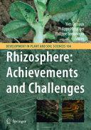 Rhizosphere Achievements And Challenges Book PDF