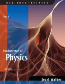 Fundamentals of Physics  Part 4  Chapters 33   37