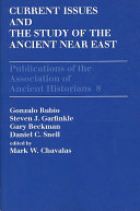 Current Issues in the History of the Ancient Near East