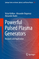 Pdf Powerful Pulsed Plasma Generators Telecharger