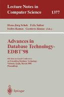 Advances in Database Technology   EDBT  98