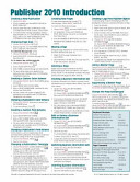 Microsoft Publisher 2010 Quick Reference Guide