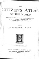 The Citizen s Atlas of the World