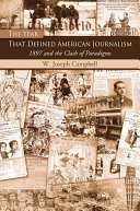 Pdf The Year That Defined American Journalism Telecharger