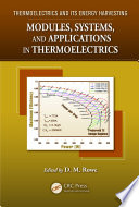 Modules  Systems  and Applications in Thermoelectrics
