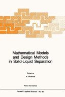 Mathematical Models and Design Methods in Solid Liquid Separation