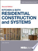 Kitchen Bath Residential Construction And Systems Book PDF
