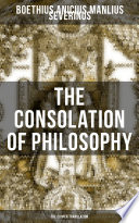 THE CONSOLATION OF PHILOSOPHY  The Cooper Translation