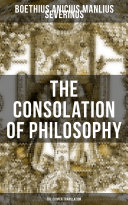 THE CONSOLATION OF PHILOSOPHY  The Cooper Translation  Book