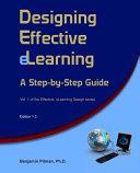 Designing Effective Elearning