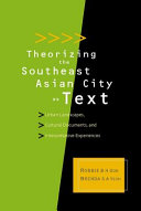 Theorizing the Southeast Asian City as Text