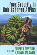 Food Security in Sub Saharan Africa Book