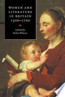 Women and Literature in Britain, 1500-1700