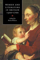 Women and Literature in Britain  1500 1700