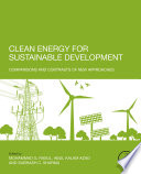 Clean Energy For Sustainable Development Book PDF
