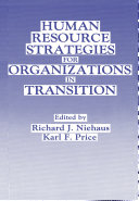 Human Resource Strategies for Organizations in Transition
