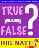 Pdf Big Nate - True or False? Telecharger