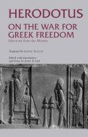On the War for Greek Freedom Pdf/ePub eBook