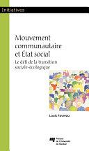 Pdf Mouvement communautaire et État social Telecharger