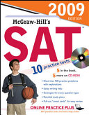McGraw Hill s SAT with CD ROM  2009 Edition