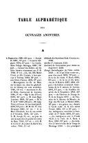 Catalogue des livres imprimés de la Bibliothèque publique de la Villa de Mons