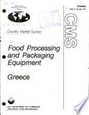 Food Processing and Packaging Equipment  Greece