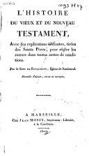 L'histoire du Vieux et du Nouveau Testament